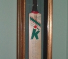 Cricket Bat Framing