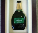 Flattened Champagne Bottle